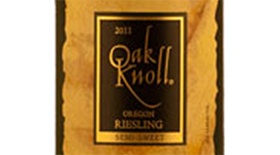 Riesling Oregon Label