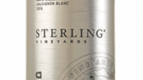 Sterling Vineyards 2015 Sauvignon Blanc Label