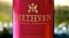 Methven Family Vineyards 2012 Dry Riesling Label