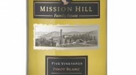 Mission Hill  2012 Five Vineyards Pinot Blanc Label