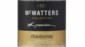 McWatters Collection 2014 Chardonnay Label