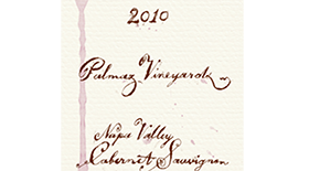 Palmaz Vineyards 2010 Cabernet Sauvignon Label