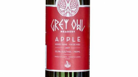 Grey Owl 2017 Meadery Apple | Red Wine