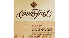 Counoise Label