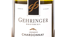 Gehringer Brothers Dry Rock Vineyards 2013 Chardonnay Label