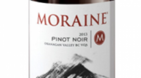 Moraine Estate Winery 2013 Pinot Noir Label