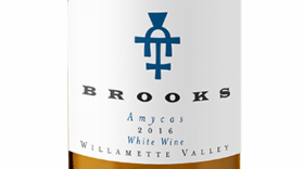Brooks Amycas 2016 White Blend Label