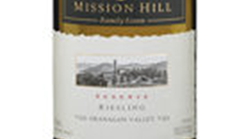 Mission Hill Reserve 2013 Riesling Label
