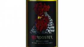 Red Rooster 2017 Pinot Gris (Grigio) Label