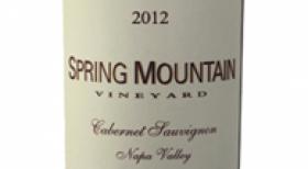 Spring Mountain Vineyards 2012 Estate Cabernet Sauvignon | Red Wine