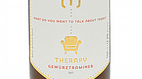 Therapy Vineyards 2017 Gewürztraminer Label