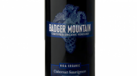 Badger Mountain Vineyard 2014 Cabernet Sauvignon blend Label