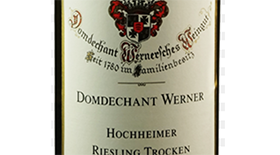 Domdechant Werner'sches Weingut 2013 Riesling Label