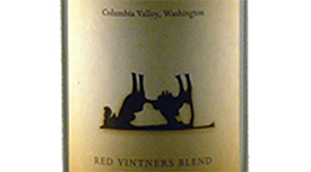 Toasted Cow Red Vintners Blend Columbia Valley Label