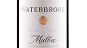 Waterbrook 2012 Malbec Label