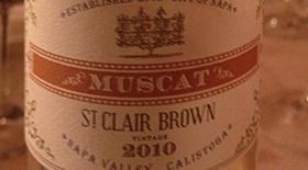 St. Clair Brown 2010 Muscat | White Wine