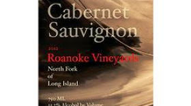 Roanoke Vineyards 2012 Cabernet Sauvignon Label