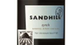 Sandhill Wines 2012 Syrah (Shiraz) Label