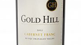 Gold Hill 2012 Cabernet Franc Label
