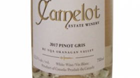 Camelot Vineyards 2017 Pinot Gris | White Wine