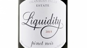 Liquidity Estate 2015 Pinot Noir Label