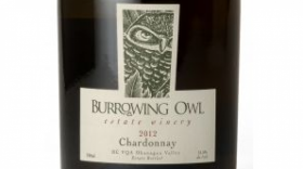 Burrowing Owl Estate Winery 2012 Chardonnay Label