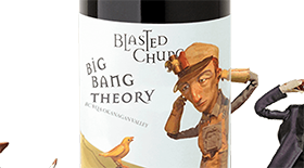 Blasted Church Big Bang Theory 2013 Label
