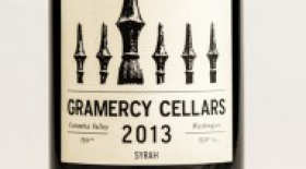 Gramercy Cellars 2013 Syrah Label