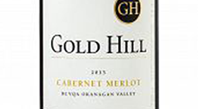 Gold Hill 2013 Cabernet/Merlot Blend Label