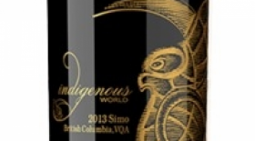 "Indigenous World Winery 2013 Simo ""See-Moo"" ~ Small Lot Red Blend Label"