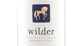Wilder Red Table Wine Label