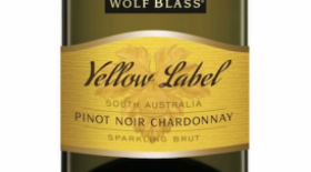 Wolf Blass Yellow Label Pinot Noir Chardonnay Sparking Brut Label