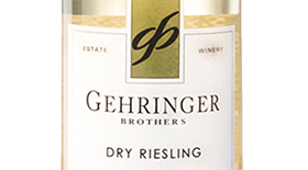 Gehringer Brothers Classic 2012 Dry Riesling Label