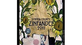 Wine Guerrilla 2011 Zinfandel Label