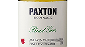 Paxton Wines 2014 Pinot Gris (Grigio) Label