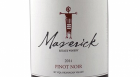 Maverick Estate Winery 2016 Provenance Pinot Noir  Label
