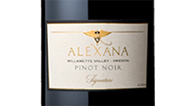 Signature Pinot Noir Label