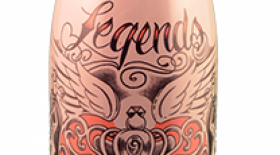 Legends Estates Winery Love Potion Sparkling Rosé Label
