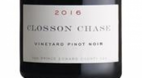 Closson Chase Vineyards 2016 Pinot Noir | Red Wine