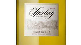 Sperling Vineyards 2011 Pinot Blanc Label