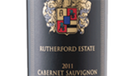 Rutherford Estate Centre Sylvain Cabernet Sauvignon Label