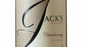 Jack's House 2015 Chardonnay California Label