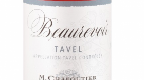 M. Chapoutier Beaurevoir 2015 Tavel Label
