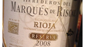 Riscal 2008 Rioja Reserva  | Red Wine