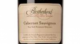 Brotherhood Winery Cabernet Sauvignon Label