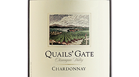 Quails' Gate Winery 2012 Chardonnay Label