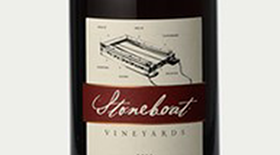 Stoneboat 2012 Solo Pinotage Reserve Label