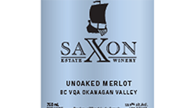 Unoaked Merlot Label
