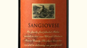 Seghesio Family Vineyards 2010 Sangiovese Label