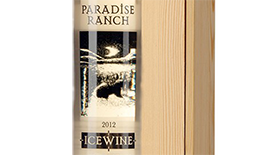 Paradise Ranch Icewine Label